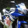 R1 Yamaha YZF moto