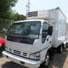 Isuzu elf 400 equipo de refrigeracion fucionando