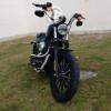 Harley Davidson IRON 883 Negro Mate