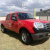 Ford ranger xlt roja modelo