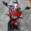 Moto honda cbr 250r roja deportiva